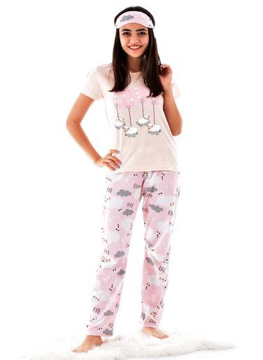 Pemilo Pijama Takım Somon